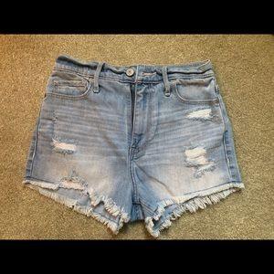 2 Abercrombie & Fitch AF denim shorts